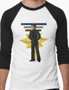 Crissy Columbus Men's Baseball ¾ T-Shirt