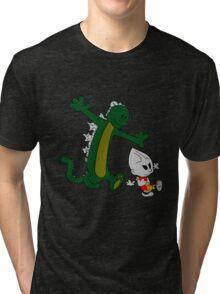Jet and Godzilla Tri-blend T-Shirt