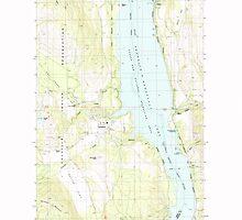 USGS Topo Map Washington State WA Inchelium 241650 1985 24000 by wetdryvac