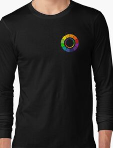 Color wheel (zip-up friendly) Long Sleeve T-Shirt