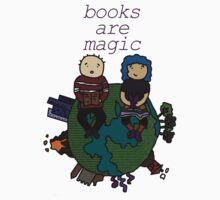 Books are magic! Baby Tee