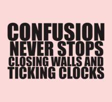And Ticking Clocks Kids Tee