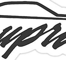 MA61 Supra Profile Sticker