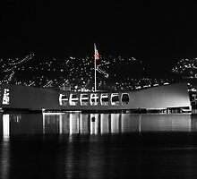 USS Arizona Memorial by Clark Thompson