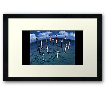 Neon Genesis Evangelion - CONGRATULATIONS - 2015 1080p Blu-Ray Cleaned Upscales Framed Print