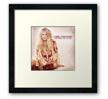 CARRIE UNDERWOOD STORYTELLER ALBUMS Framed Print