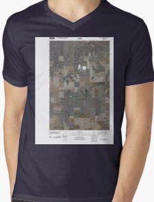USGS Topo Map Washington State WA Saint Andrews 20110425 TM Mens V-Neck T-Shirt