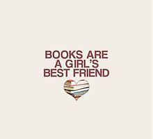 Books are a girl's best friend by negresco