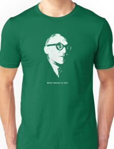 What would le Corbusier do? Architecture T shirt Unisex T-Shirt