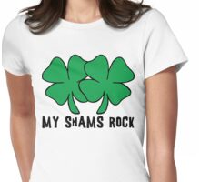 Funny Irish ShamRocks Women's Womens Fitted T-Shirt