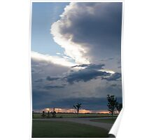 Storm Over the Praries Poster