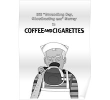 Coffee and Cigarettes // Bill Murray Poster