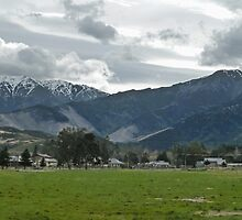 Small Town Mountains by PictureNZ