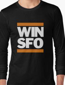 San Francisco Giants WIN SFO (adult size) Long Sleeve T-Shirt