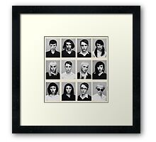 YEARBOOK (Complete Grid) Framed Print