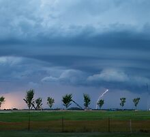 Supercell Rotating in a Tornado-like Fashion by RainaRaina