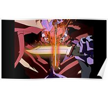 Neon Genesis Evangelion - Unit Fights - 2015 1080p Blu-Ray Cleaned Upscales Poster