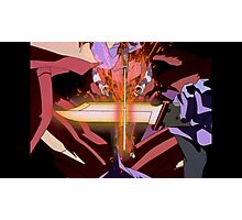 Neon Genesis Evangelion - Unit Fights - 2015 1080p Blu-Ray Cleaned Upscales Photographic Print