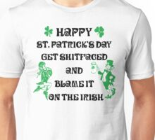 Happy St Patrick's Day Drinking Unisex T-Shirt