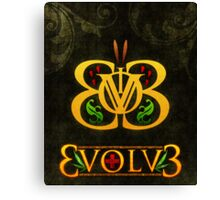 3volv3 Butterfly Canvas Print