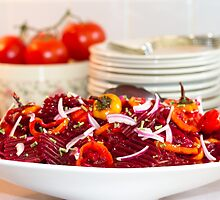 Marinated Beet Salad And Recipe  by Sandra Foster