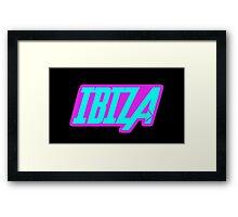 Ibiza Clubbing Framed Print