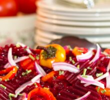 Marinated Beet Salad And Recipe  Sticker
