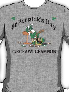 Irish Pub Crawl Champion T-Shirt