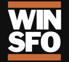 San Francisco Giants WIN SFO (kids size) One Piece - Short Sleeve