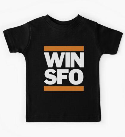 San Francisco Giants WIN SFO (kids size) Kids Tee