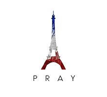 """""""PRAY4FRANCE"""" by thatboyque"""