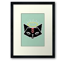 Cat Tribe 01 Framed Print