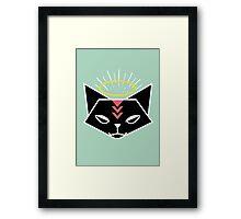 Cat Tribe 01 Framed Print