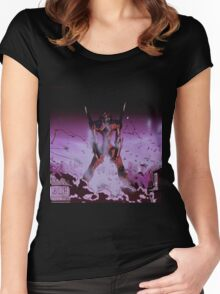 Neon Genesis Evangelion - Unit - 2015 1080p Blu-Ray Cleaned Upscales Women's Fitted Scoop T-Shirt