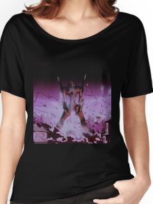 Neon Genesis Evangelion - Unit - 2015 1080p Blu-Ray Cleaned Upscales Women's Relaxed Fit T-Shirt