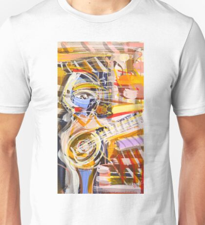 The guitarist Unisex T-Shirt