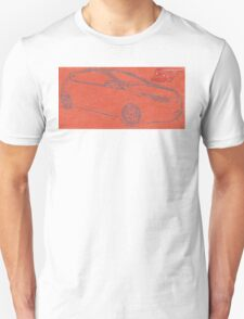 Focus ST Mk3 Drawing with ST Logo Unisex T-Shirt