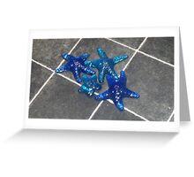 glass starfish Greeting Card
