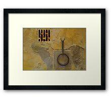 Wall - Siena, Tuscany, Italy Framed Print