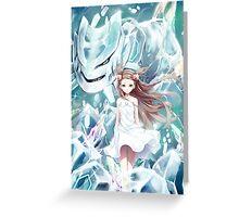 Pokemon - Jasmine - Steelix (no text) Greeting Card