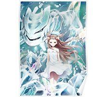 Pokemon - Jasmine - Steelix (no text) Poster