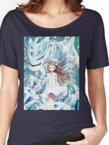 Pokemon - Jasmine - Steelix (no text) Women's Relaxed Fit T-Shirt