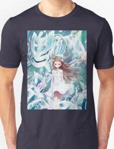Pokemon - Jasmine - Steelix (no text) Unisex T-Shirt