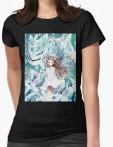 Pokemon - Jasmine - Steelix (no text) Womens Fitted T-Shirt