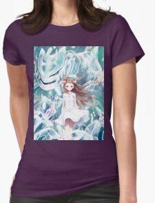 Pokemon - Jasmine - Steelix (no text) Womens Fitted T-Shirt