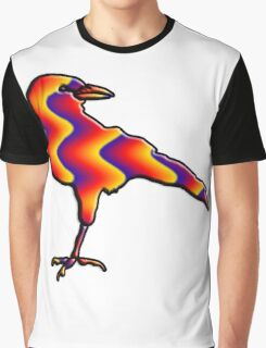 Rainbow Crow Graphic T-Shirt