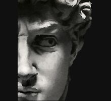 STATUE OF DAVID - DIGITAL REPAINT Unisex T-Shirt