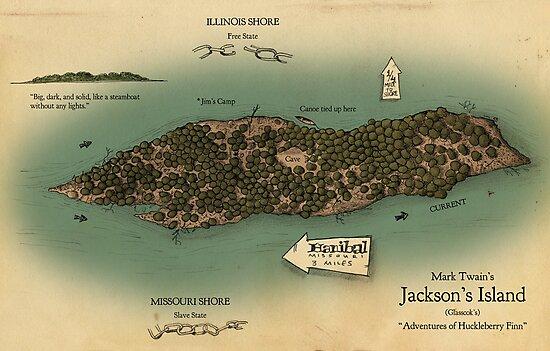 Jackson's Island from Huckleberry Finn by Craig Wetzel