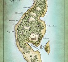 Skeleton Island from Treasure Island by Craig Wetzel