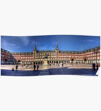 Plaza Mayor Poster